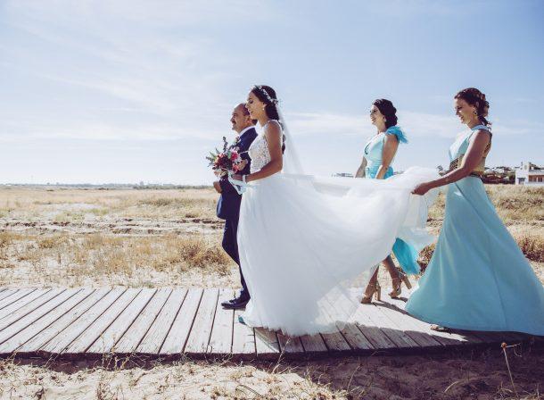 Reportaje de boda en las playas de huelva
